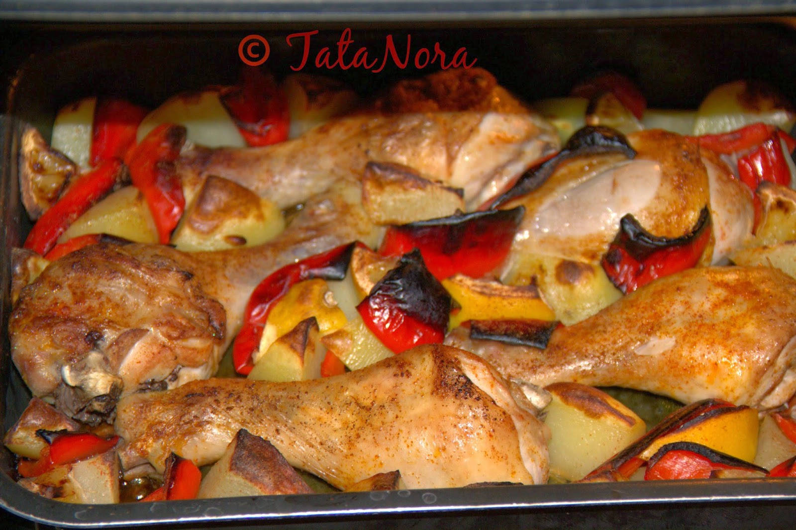 Tatanora Una Famiglia A Dieta E I Fusi Di Pollo Al Forno