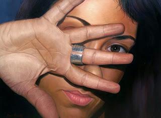 Rostros De Mujeres Pintados