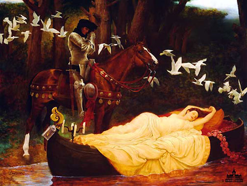 lady shalott painting