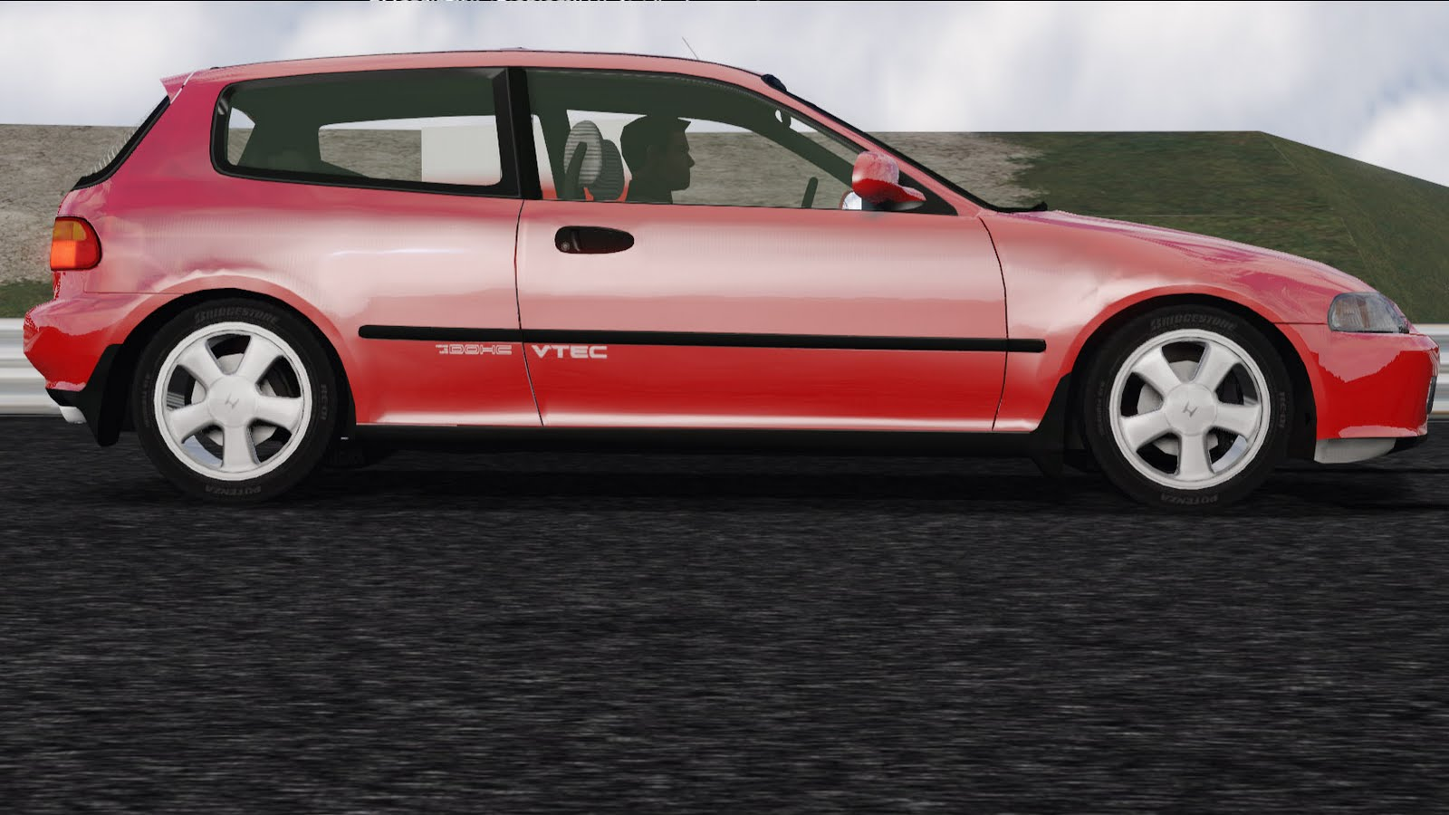 amgfan racer cars 1993 honda civic vti. Black Bedroom Furniture Sets. Home Design Ideas