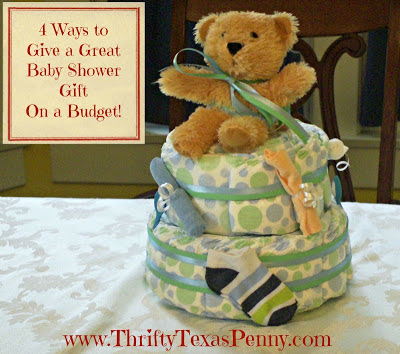 ways to give a great inexpensive baby shower gift on a budget