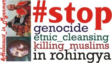 #SaveRohingyaPeople