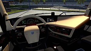 Volvo FH16 2012 New Interior and Colored Dashboard v2.0