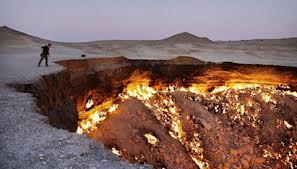 Lubang Api di Uzbekistan