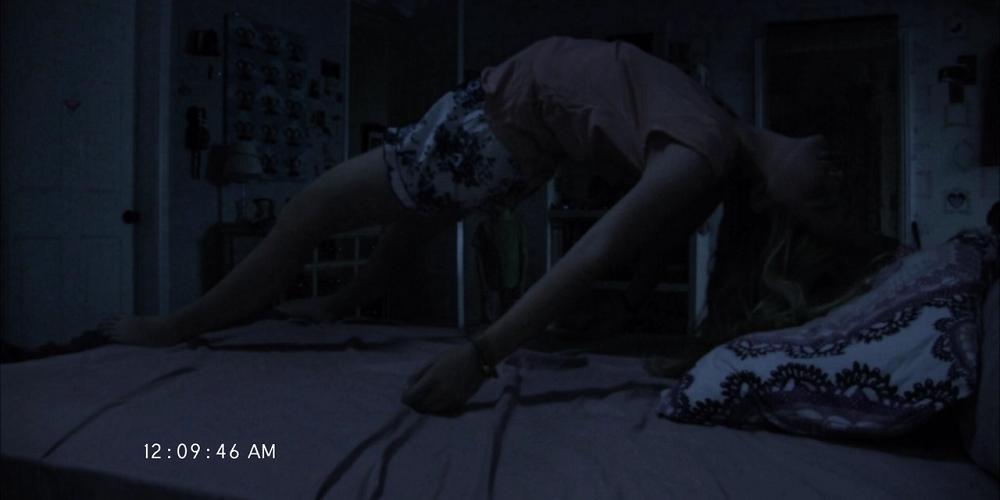 Kathryn Newton em ATIVIDADE PARANORMAL 4 (Paranormal Activity 4)