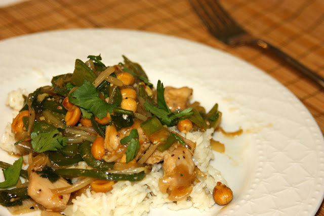 Asian Style Cashew (or Peanut) Chicken