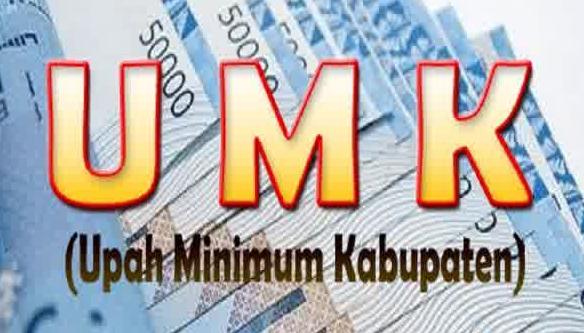 Upah Minimum Kabupaten Kota UMK 2015
