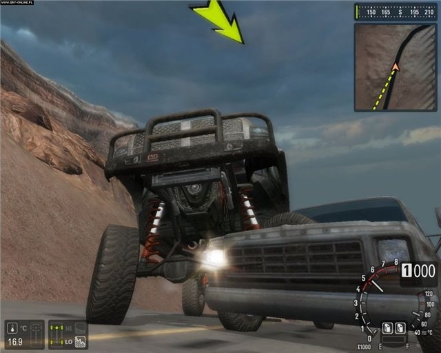 Motorm4x Offroad Extreme PC Game Play