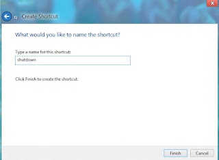 give a name to shortcut