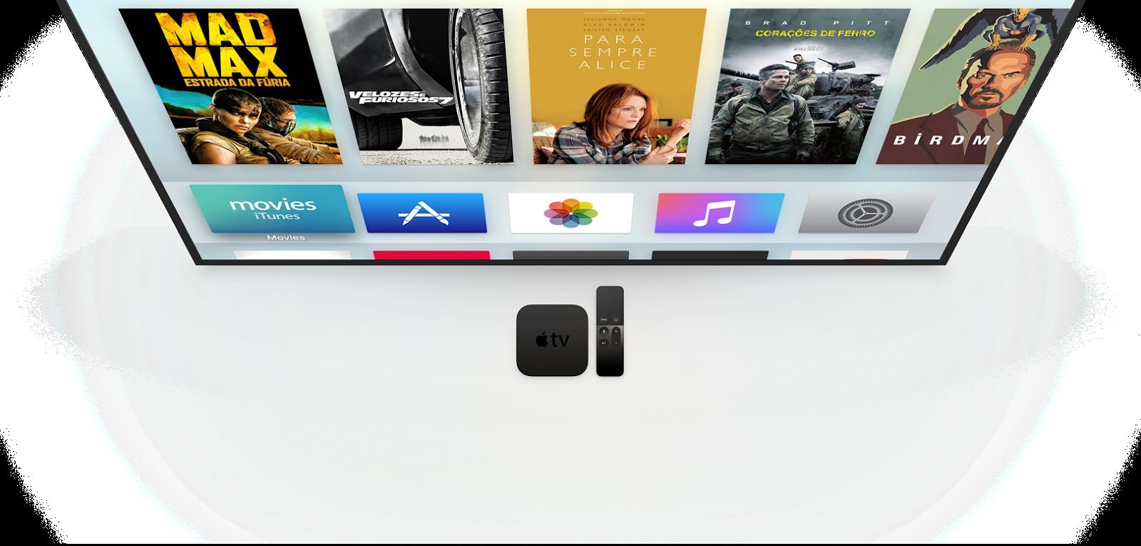 Nova Apple TV de quarta geração