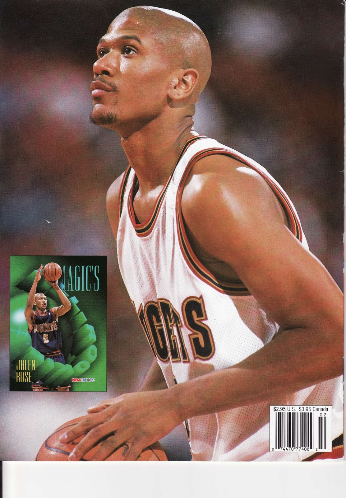 Jalen Rose from Beckett Basketball Monthly