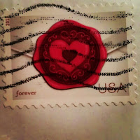 Valentine's Day stamp