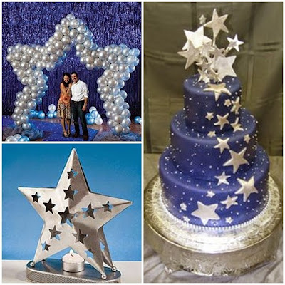 Dancing Under the Stars Sweet Fifteen Theme by quincecandlesQuinceanera Star Theme Invitations