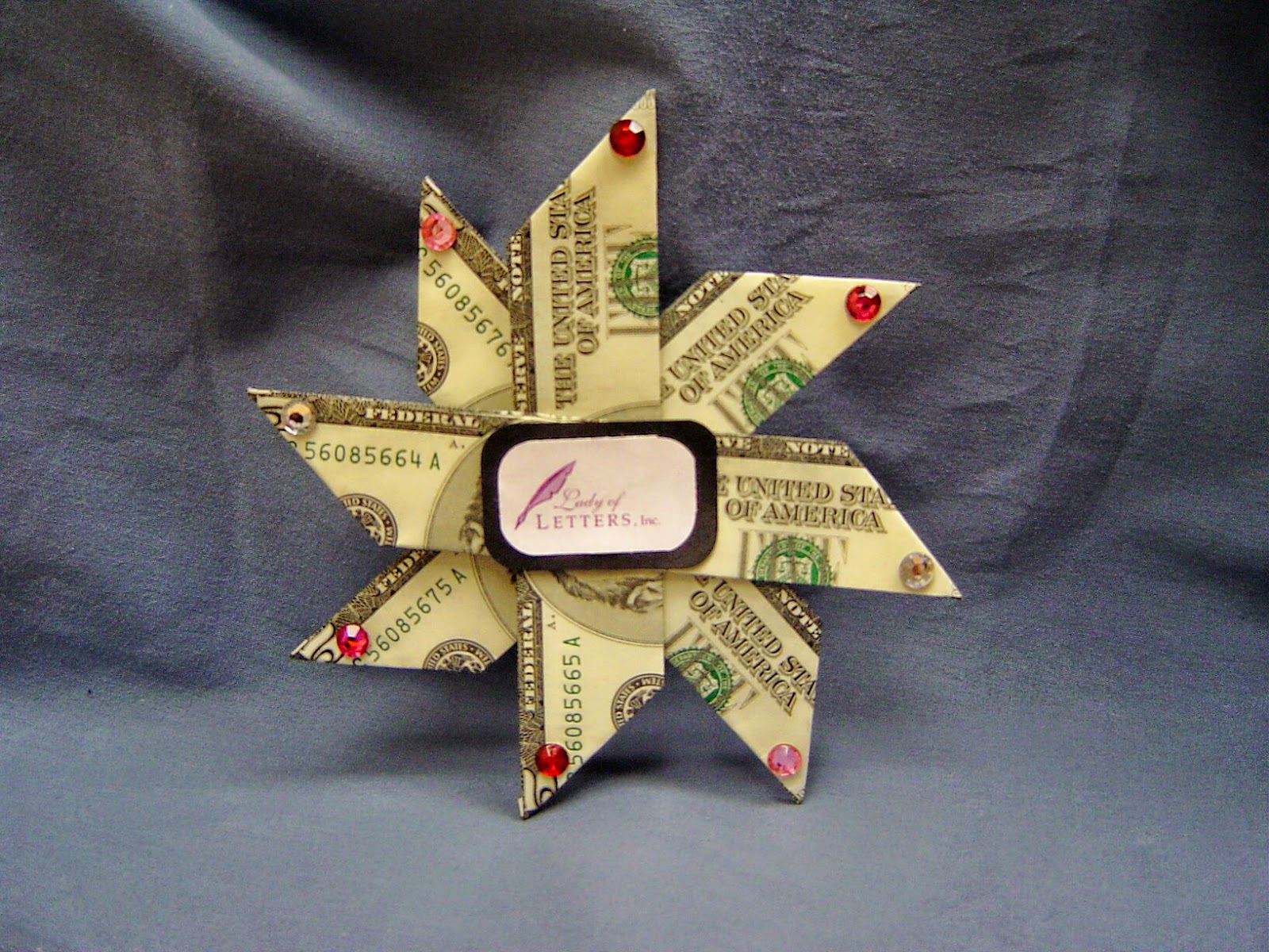 Money talks where to find instructions for folding money into a foldin money star design simple easy fun money origami jeuxipadfo Images