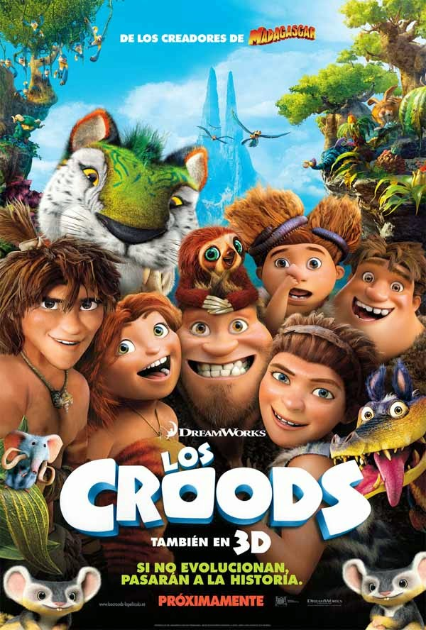 Los Croods - Cartel