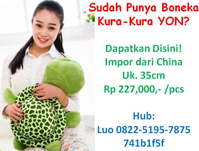 Order Boneka YON - Stok Indonesia - Sampai Dalam 2-3 Hari
