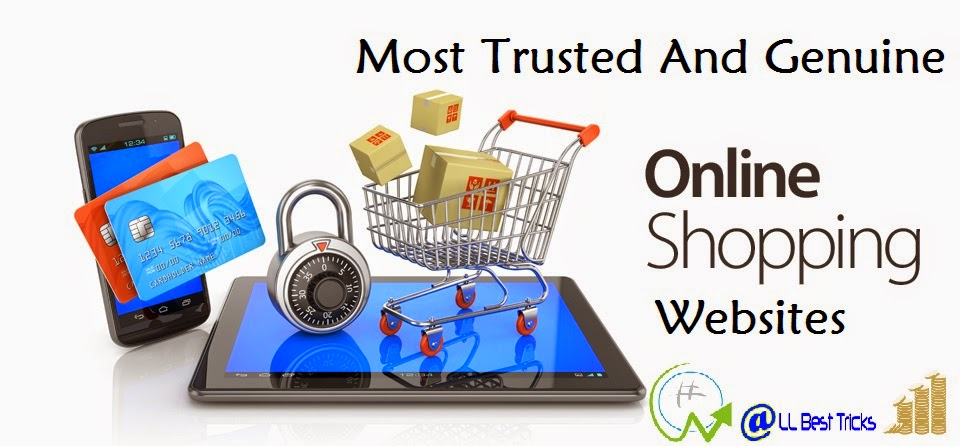 most online trusted and reliable shopping sites all best