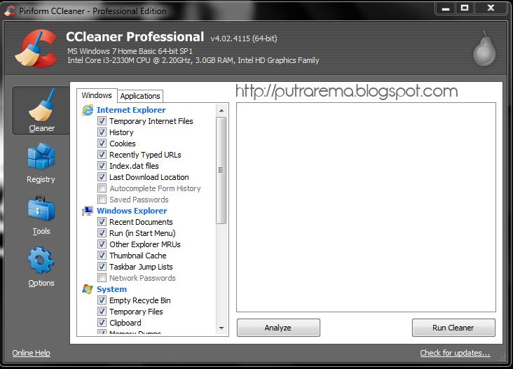 Ccleaner professional v4 02 4115 incl crack