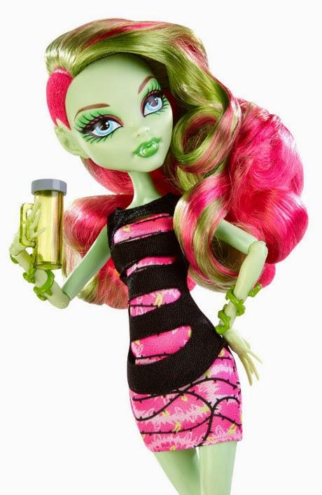 TOYS : JUGUETES - MONSTER HIGH   Coffin Bean - Venus McFlytrap : Doll | Muñeca  Producto Oficial 2014 | Mattel CBX50 | A partir de 6 años