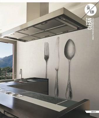 Veneta Cucine Domus arredi : tappezzerie e carta da parati da Cucina