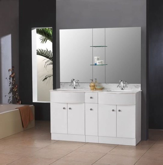 Creative Bali White Fitted Bathroom Furniture  Roper Rhodes