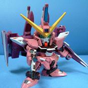 SD Justice Gundam Papercraft