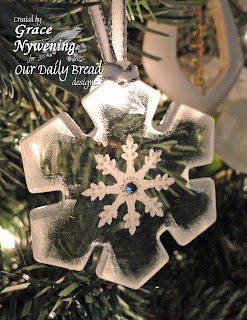 Our Daily Bread designs stamps, Sparkling Snowflakes, Grace Nywening