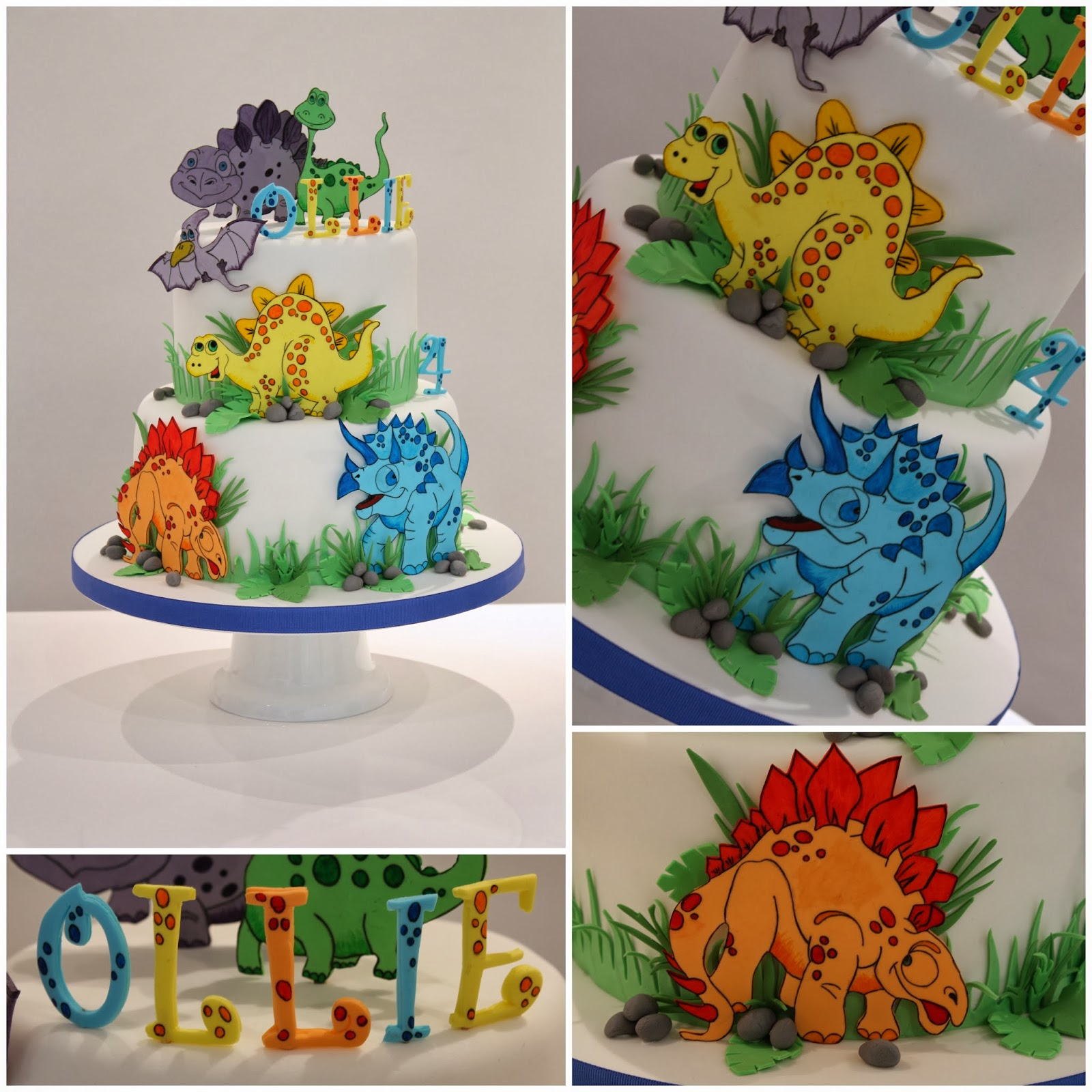 Dinosaur Cake Decorations Uk : Tiers & Tiaras: Dinosaur Party