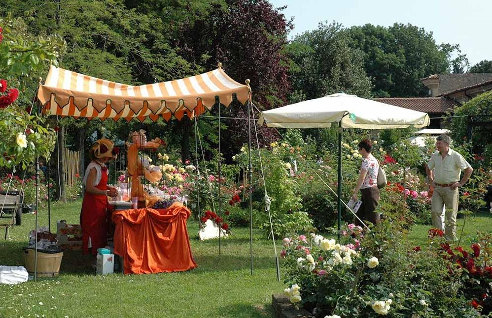 Il giardino sfumato in franciacorta con giardinaria for Arredo giardino brescia