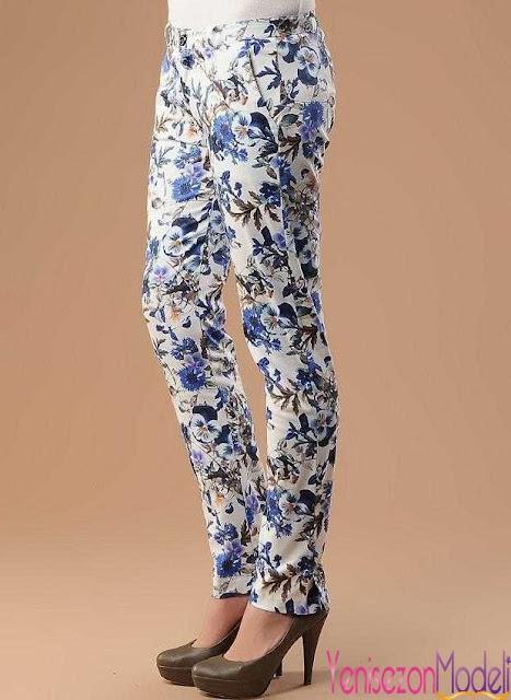 Yeni Moda Bayan Pantolonlar