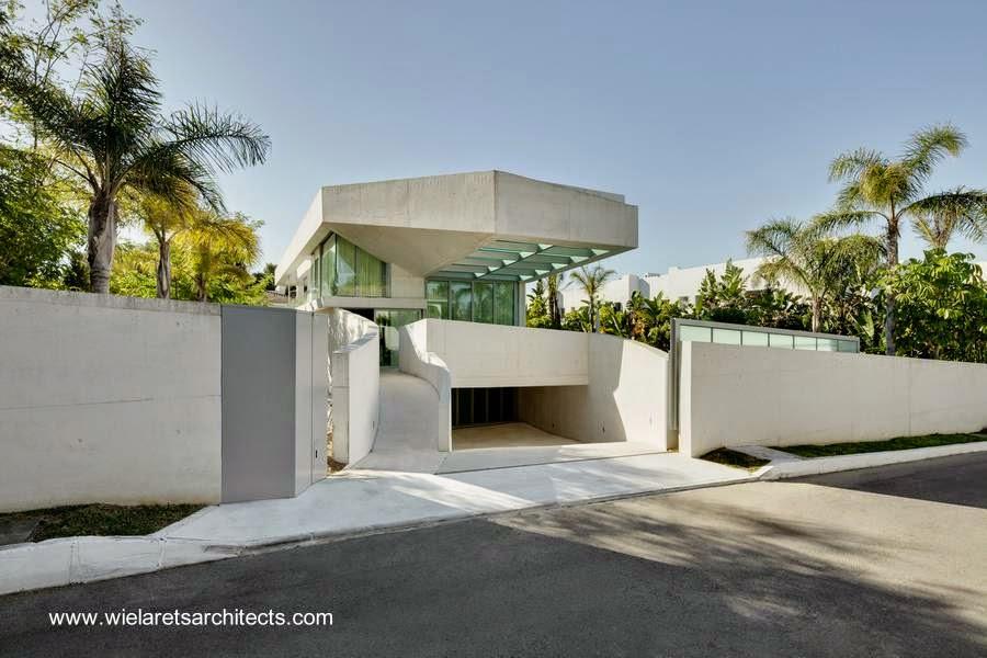 Casa contemporánea vanguardista en Marbella