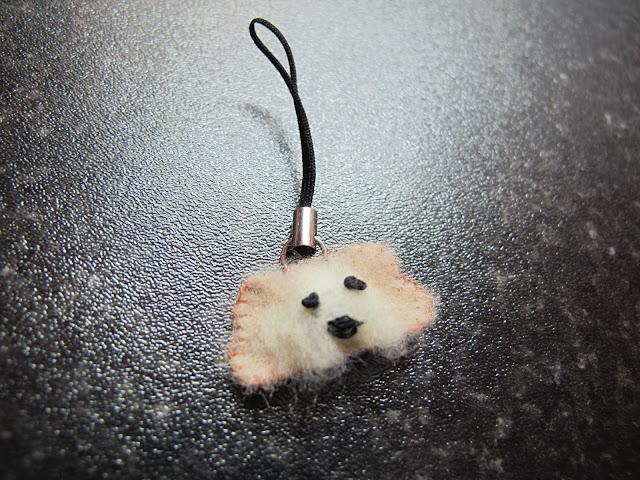 felt puppy