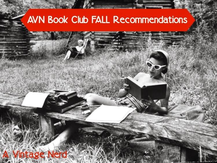 A Vintage Nerd, Vintage Blog, Vintage Themed Books