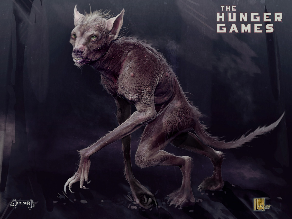 Symbolism and Biology of the MUTTATIONS from THE HUNGER GAMES  Forces