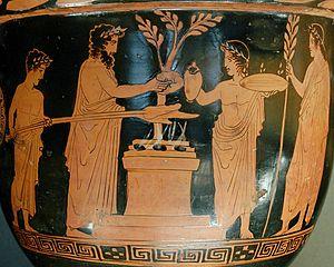 sacrificio griego. La sabiduria de grecia. Grecia antigua, Grecia historia. Arte en grecia. arquitectura griega