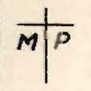 Signo convencional de Parque de material y municiones