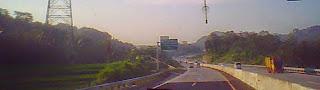 jalan baru tol Bawen Ungaran Semarang