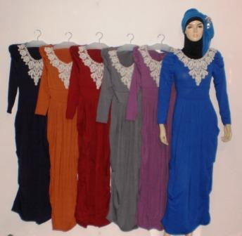 Grosir Baju Muslim Murah Online Tanah Abang Gamis Renda