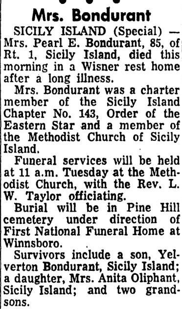 roots from the bayou  sunday u0026 39 s obituary