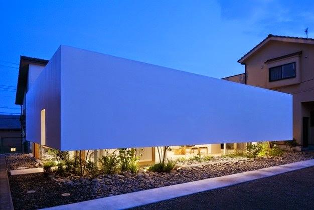 Fachadas de casas de una planta minimalistas fachadas de for Fachadas exteriores de casas minimalistas