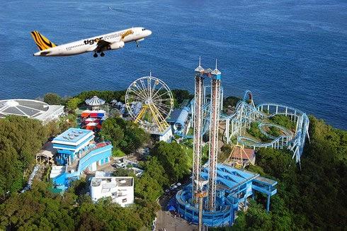 Vé máy bay Tiger Airways đi Hồng Kông