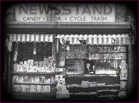 Cycle Trash NewsstanD