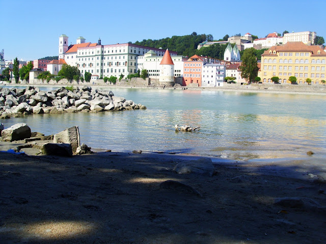 Passau Innstrand Picknick