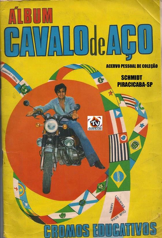 ÁLBUM CAVALO DE AÇO