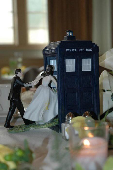 Tardis Wedding Tardis Wedding Cake Topper