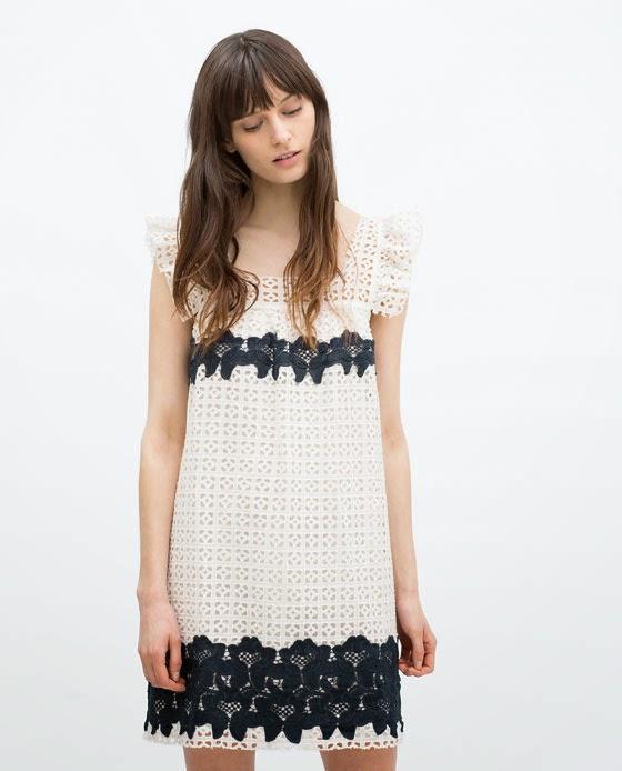 Zara blanco y negro
