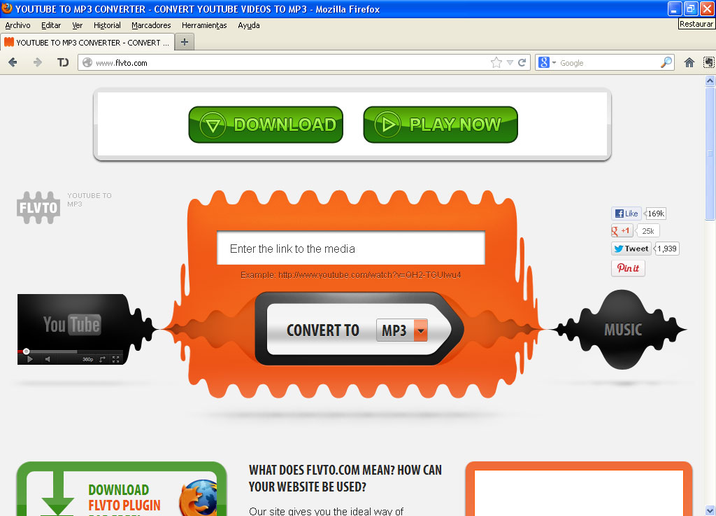 paginas para descargar videos de youtube en mp3 gratis