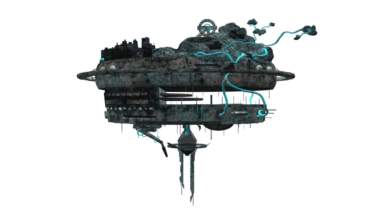 Alien ship png