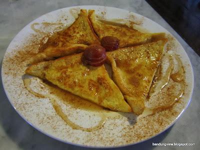 Roti Bakar Prantjis Pain Perdoe