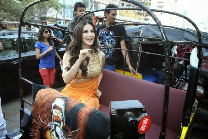 Sunny Leone at Ragini MMS 2 Success Party